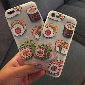iPhone sushi phone case